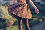 dress-floral-grass-stockings-tights-Favim.com-330705