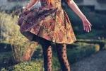 dress-floral-grass-stockings-tights-Favim.com-330705
