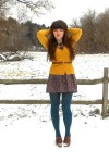 charcoal-gray-forever-21-dress-teal-simply-vera-tights-mustard-h-m-cardigan_400