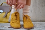 Lace collar, mustard shoes (11)