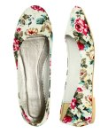 wet seal floral flats
