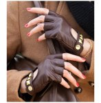 FREE-SHIPPING-2012-NOOLDERS-NEW-Hot-Sale-short-rivet-lambskin-leather-glove-lady-s-fashion-leather
