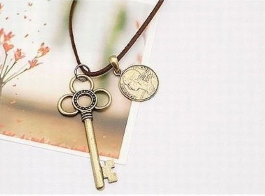 Hot-Sell-New-design-retro-personality-fashioned-key-pendant-Necklace-Free-Shipping
