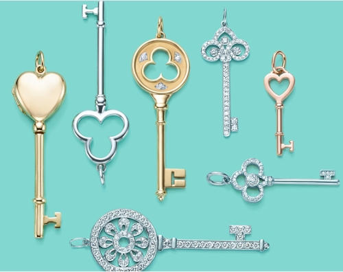 tiffany-key-pendant-necklaces