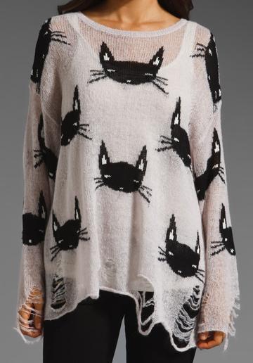Wildfox-Cat-Sweater