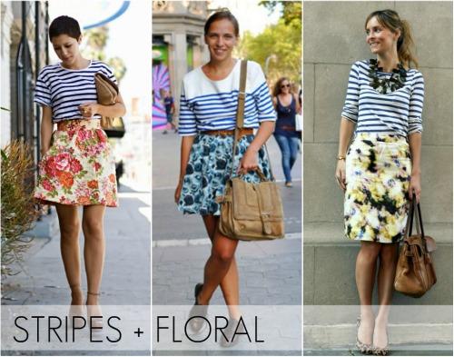 stripes-floral
