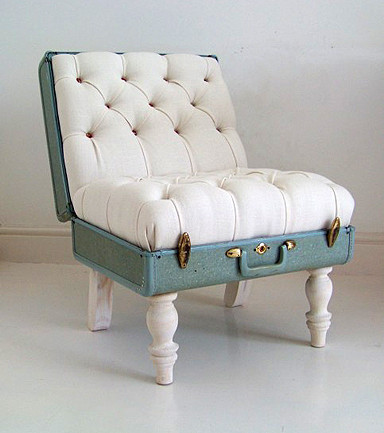 suitcase chair a