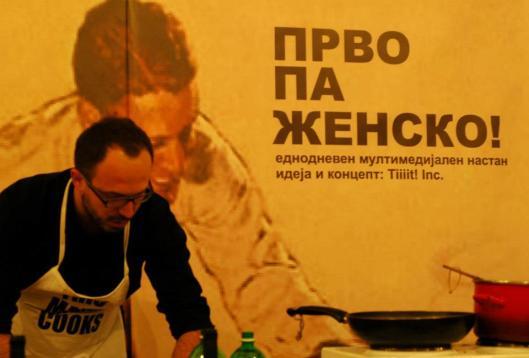 Артан Седику готви волшебства - фото: Em Ellephantski