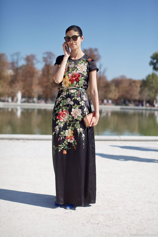 CAROLINE-ISSA-embroidered-dress