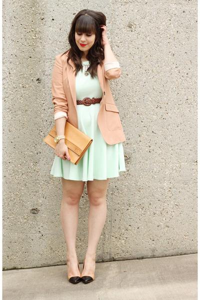 mint-green-h-m-dress-peach-h-m-blazer-camel-vintage-ysl-bag_400