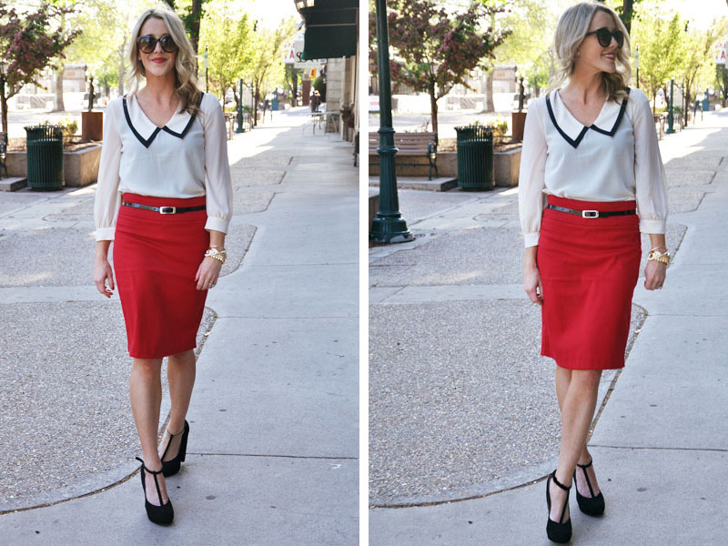 Red-Pencil-Skirt-Forever-21
