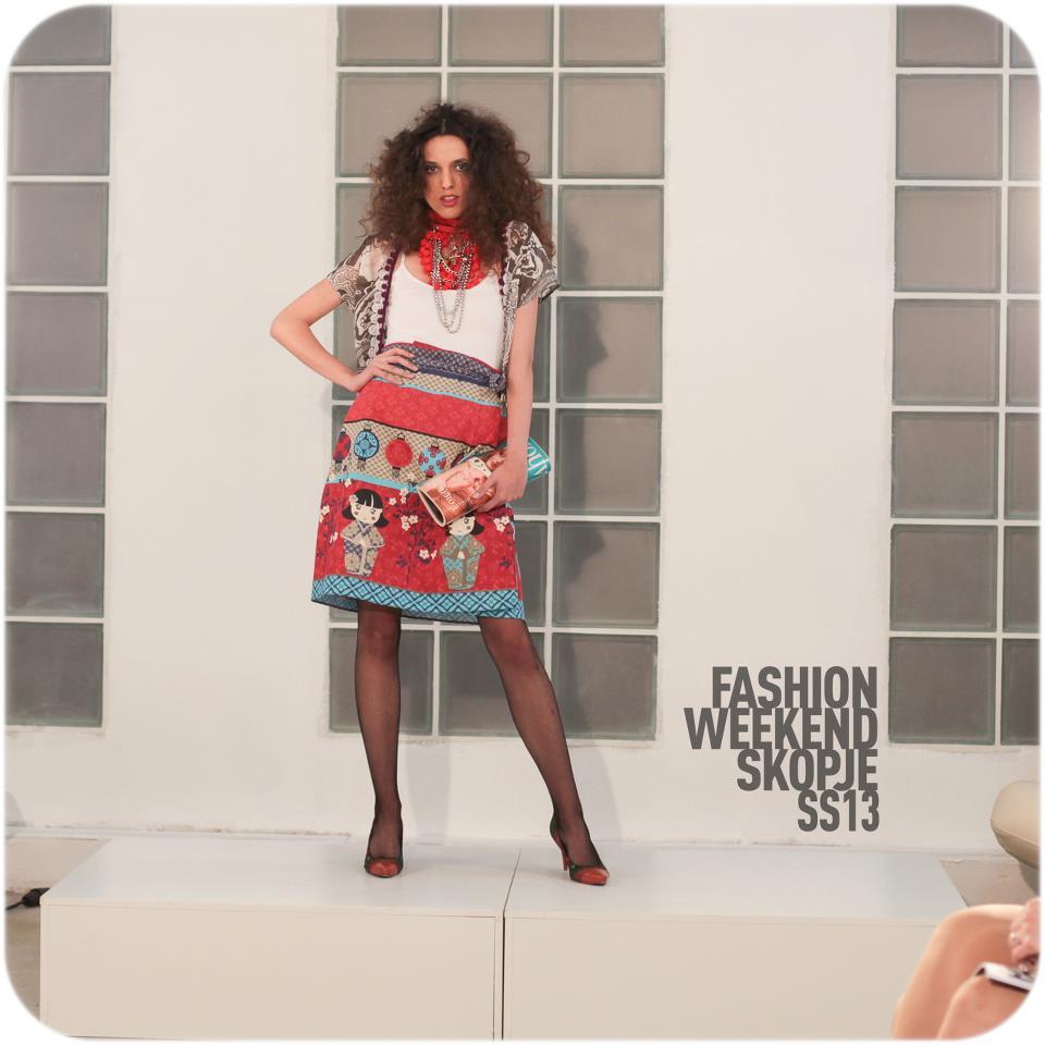 We all fell in love with this skirt. - Designer: Nikola Eftimov