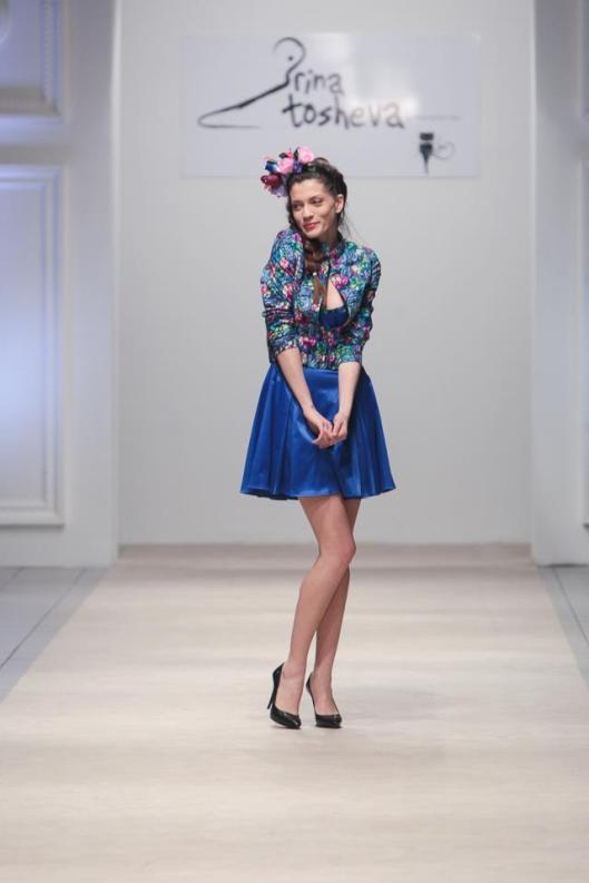Breath in youth! The most talked about jacket. - Designer: Irina Tosheva. Model: Maja Ristevska