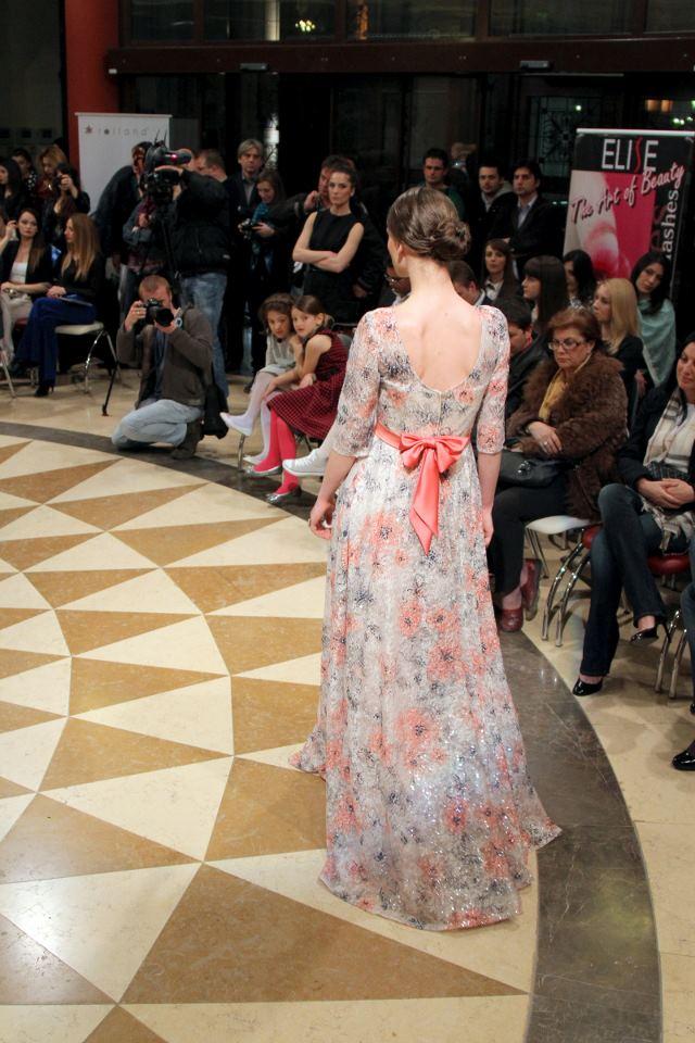 Contemporary glamour at it's best. - Designer: Tanja Kokev. Model: Ivana Geleva