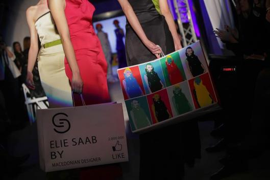 Socially engaged fashion. Striking. - Designer: Aleksandra Mitkovska