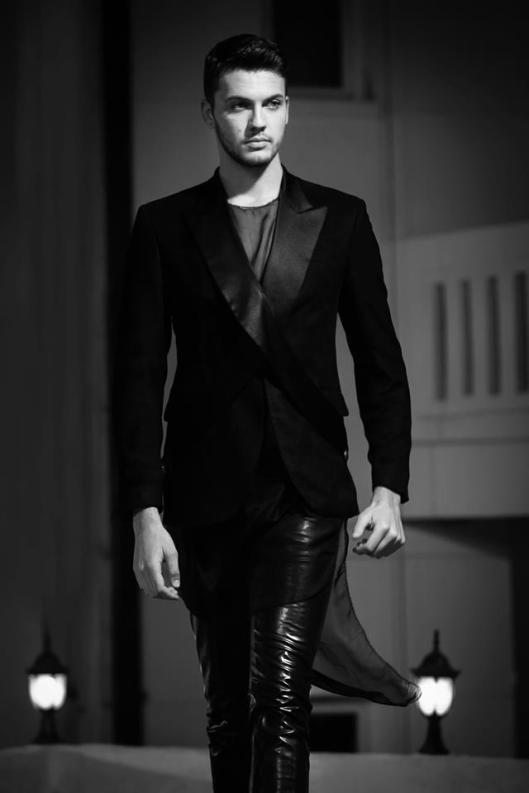 Completely out of the box. The best design for men. Ever. - Designer: Robert Ivanovski. Model: Darko Todorovski