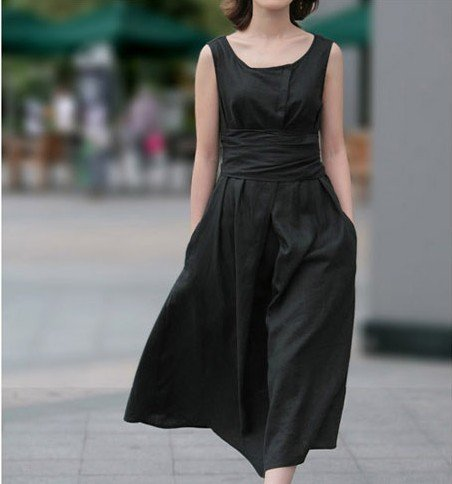 11Y02-high-quality-women-s-fashion-linen-dress-20-colors-in