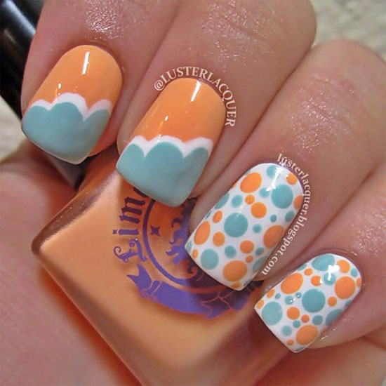Crazy summer nails vezilka - Cool designs for girls ...