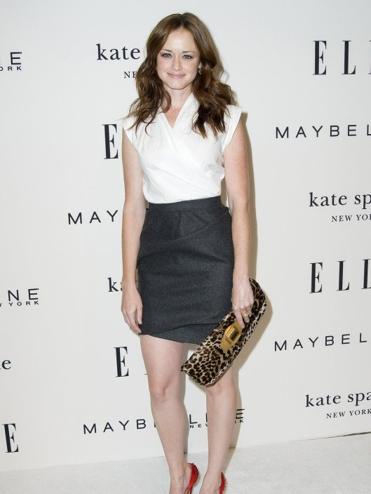alexis_bledel_grey_skirt_white