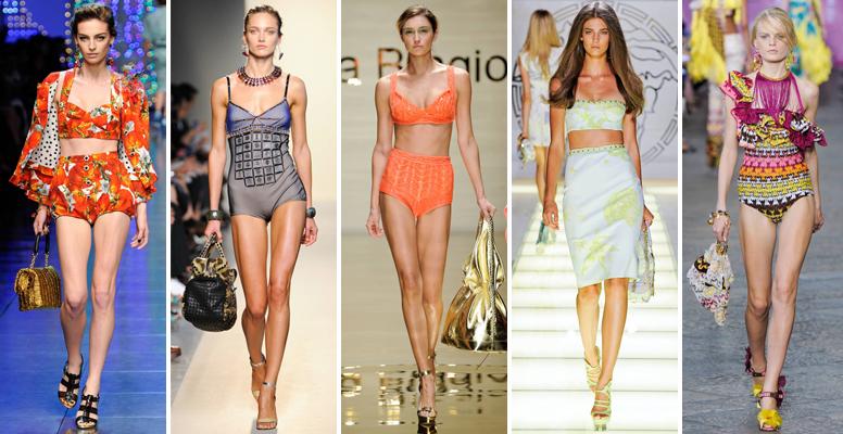 Dolce & Gabbana, Bottega Veneta, Laura Biagiotti, Versace, Missoni