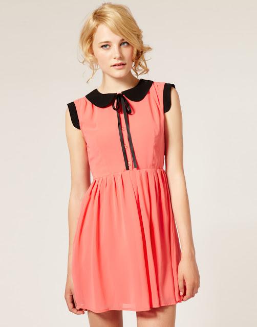 Dahlia Coral Dress