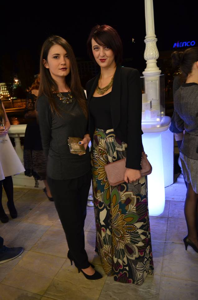 With designer Elena Dodevska (StyleFiles.mk) Photo: Trajche Gabranth Sachkarski