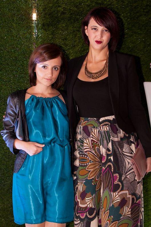 With fashion designer Irina Tosheva (Photo: Miladin Papovic)