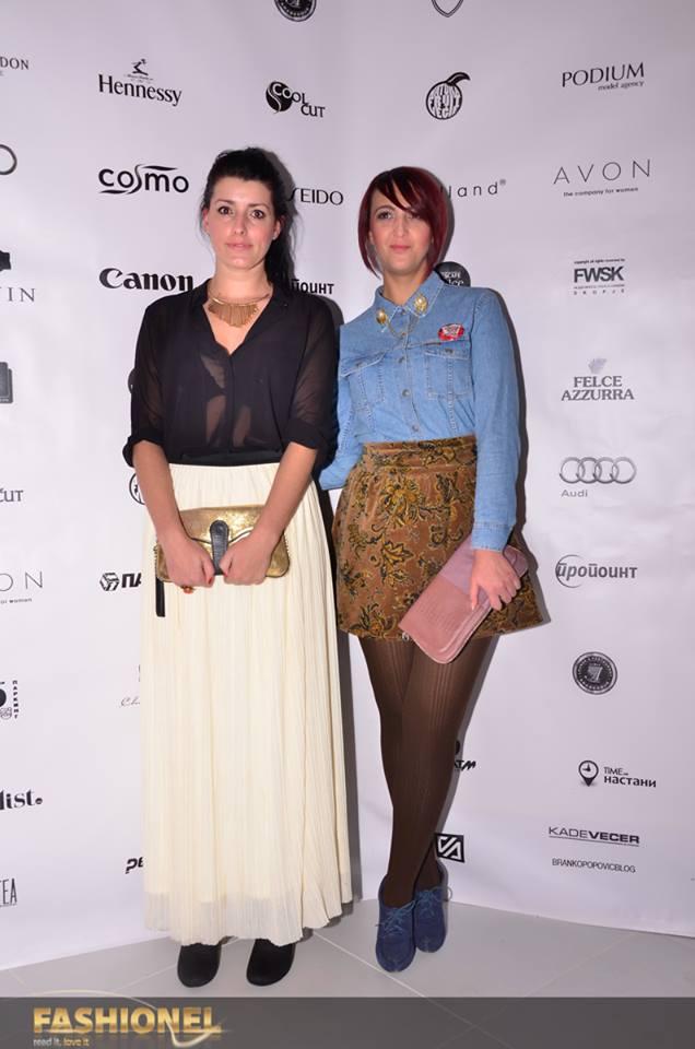 Irena Mila & Aleksandrina Vezilka (Photo: Fashionel)