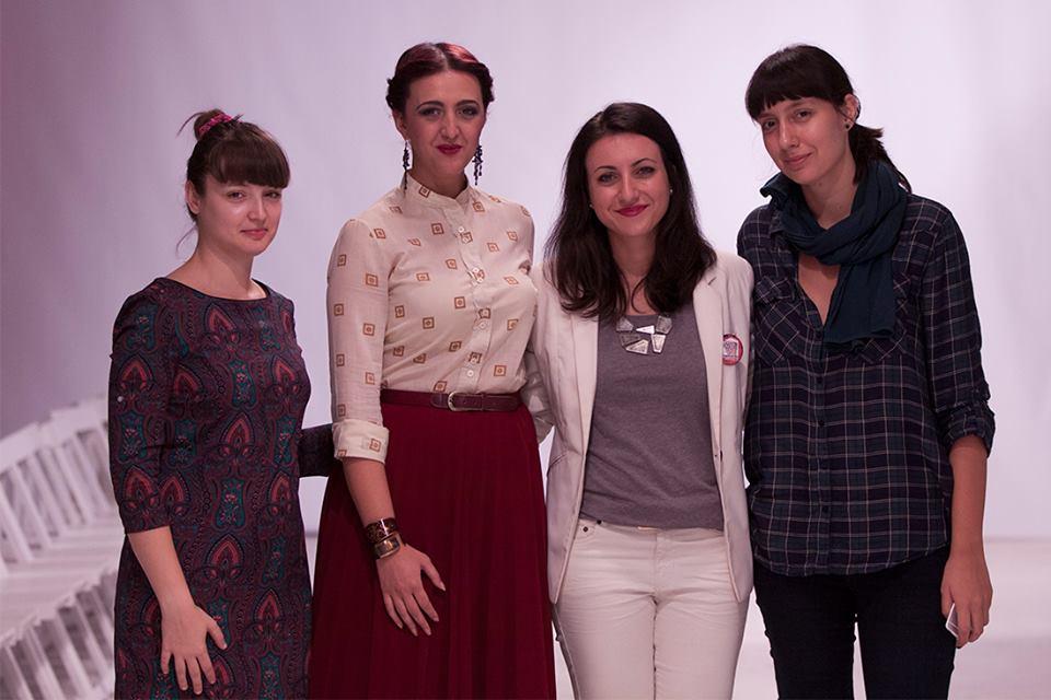 With Skopje Casual: Kalina, Sandra & Iva (Photo: Miladin Papovic)