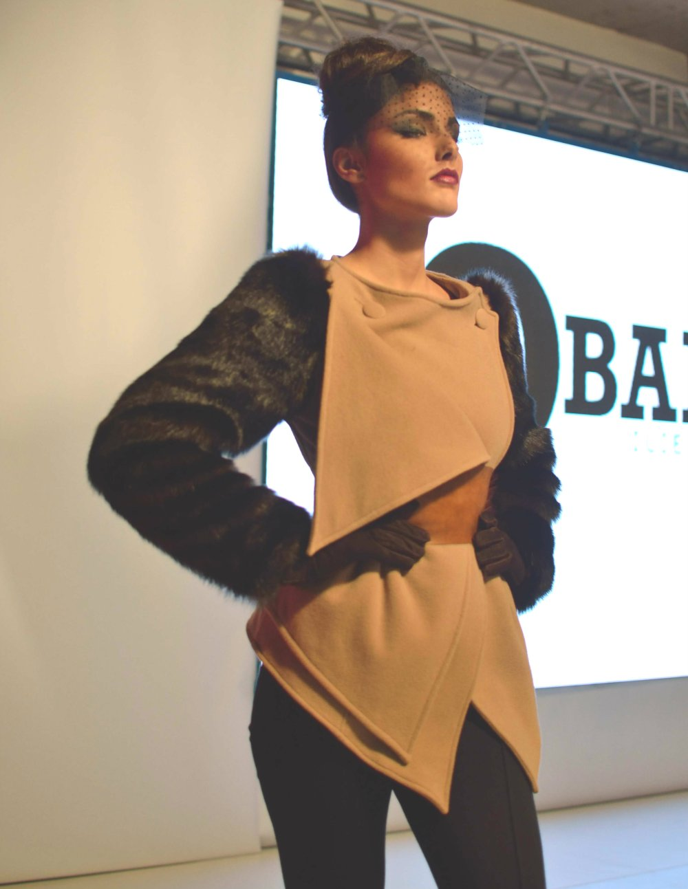 Model Ana Stanojkovska truly captured THE look