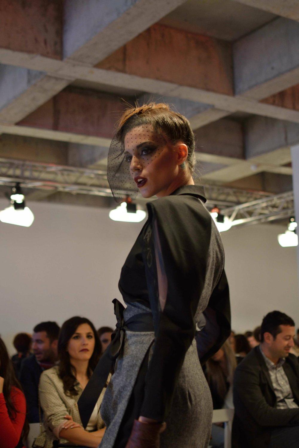 Model Maja Ristevska was a breathtaking Femme Fatale