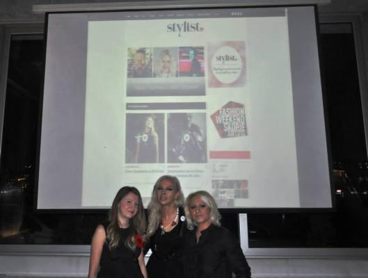 Основачкиот тим на Stylist.mk: Ана Несторовска, Снежана Богдановска & Катерина Трајановска
