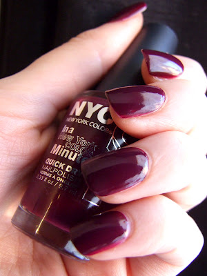 NYC Quick dry nail polish - 248 Manhattan (source)