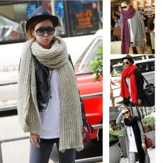 HOT-Women-Extra-Long-Winter-Warm-Tear-Design-Knit-Scarf-Shawl-4-color-FA-008