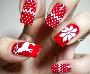 red-white-winter-sweater-nails