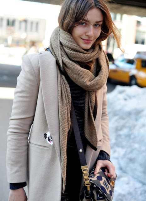 Street Style Knitted Scarf Vezilka