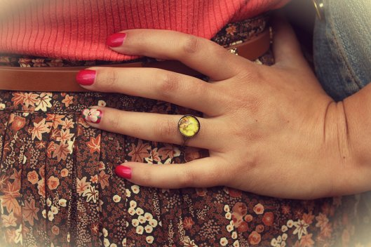 Vintage outfit ring